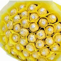 48 Pcs Ferrero Rocher chocolate bouquet will surprise anyone!