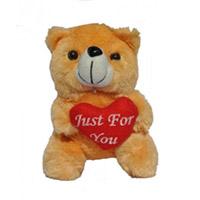 An Orange cute Small Teddy bear