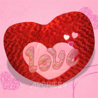 Beautiful soft 'Red Heart' to convey all your lovely wishes to your beloved. Heart