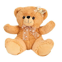 Made from top quality material. Easy to carry and cuddle, this cutie Angel Teddy Bear  20cms