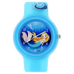 Zoop Blue Dial Analog Watch for Women <br> a. 3 ATM Water Resistance <br> b. 12 Months Warranty <br> c. Bright and Funky Design